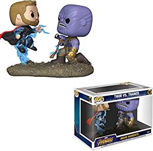 Pop Bobble 2 pack Marvel Movie Moments Thor vs Thanos